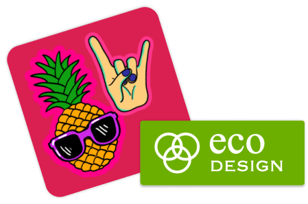 Bespoke Stickers - upload your own logo or artwork